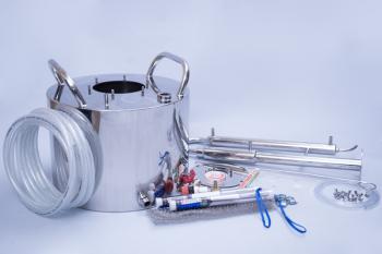 Дистиллятор «Экспресс» с сухопарником 11 литров