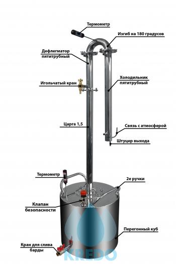 "Дистиллятор ""ГУРМАН"" 44 литра"